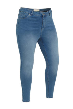 high waist skinny jeans Lucy mid blue