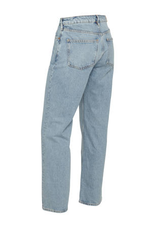 high waist straight fit jeans The Sky imagine blue