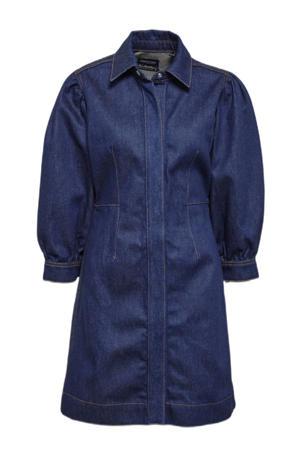 spijker blousejurk donkerblauw