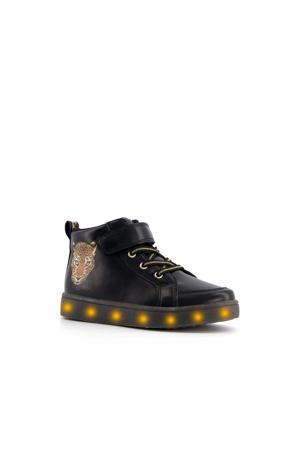 hoge sneakers met lichtjes zwart