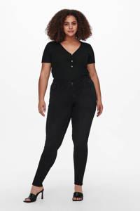 ONLY CARMAKOMA slim fit jeans CARLAOLA black denim, Black denim