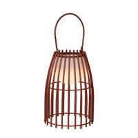 Lucide tafellamp Fjara, Roest bruin