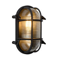 Lucide wandlamp Dudley, Zwart