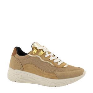 sneakers beige/goud