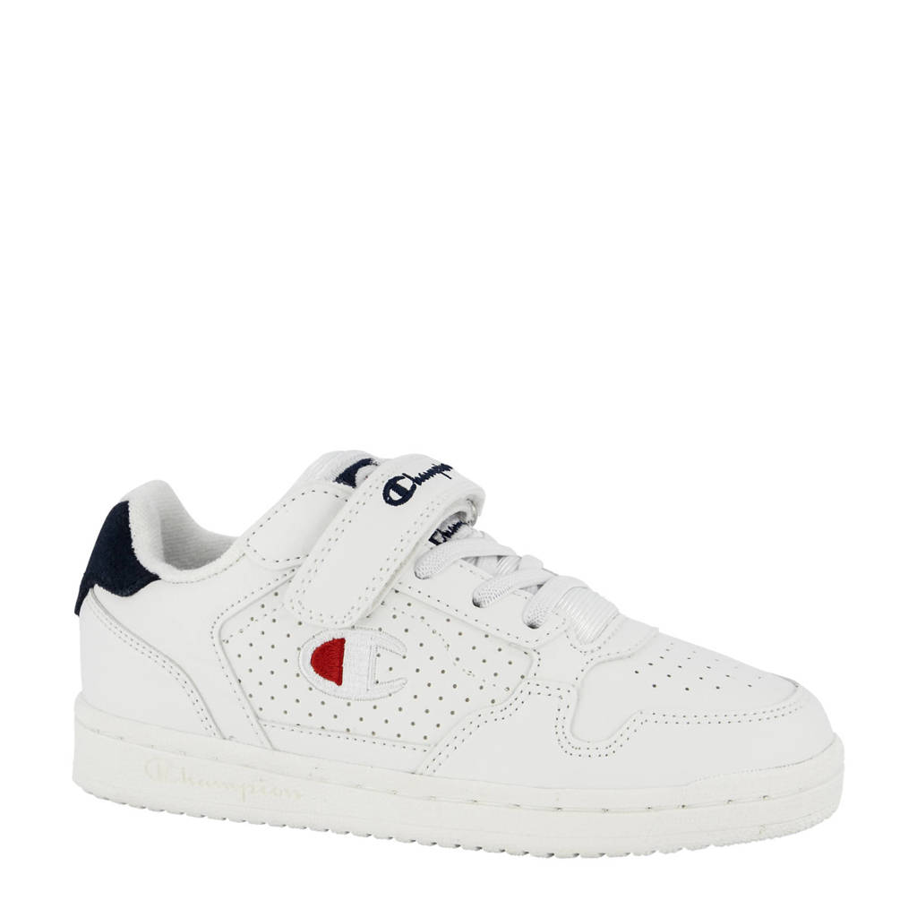 Champion Chicago  sneakers wit/donkerblauw, Wit/donkerblauw