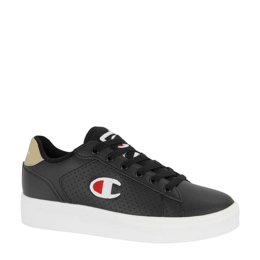 Champion La Mesa  sneakers zwart/goud, Zwart