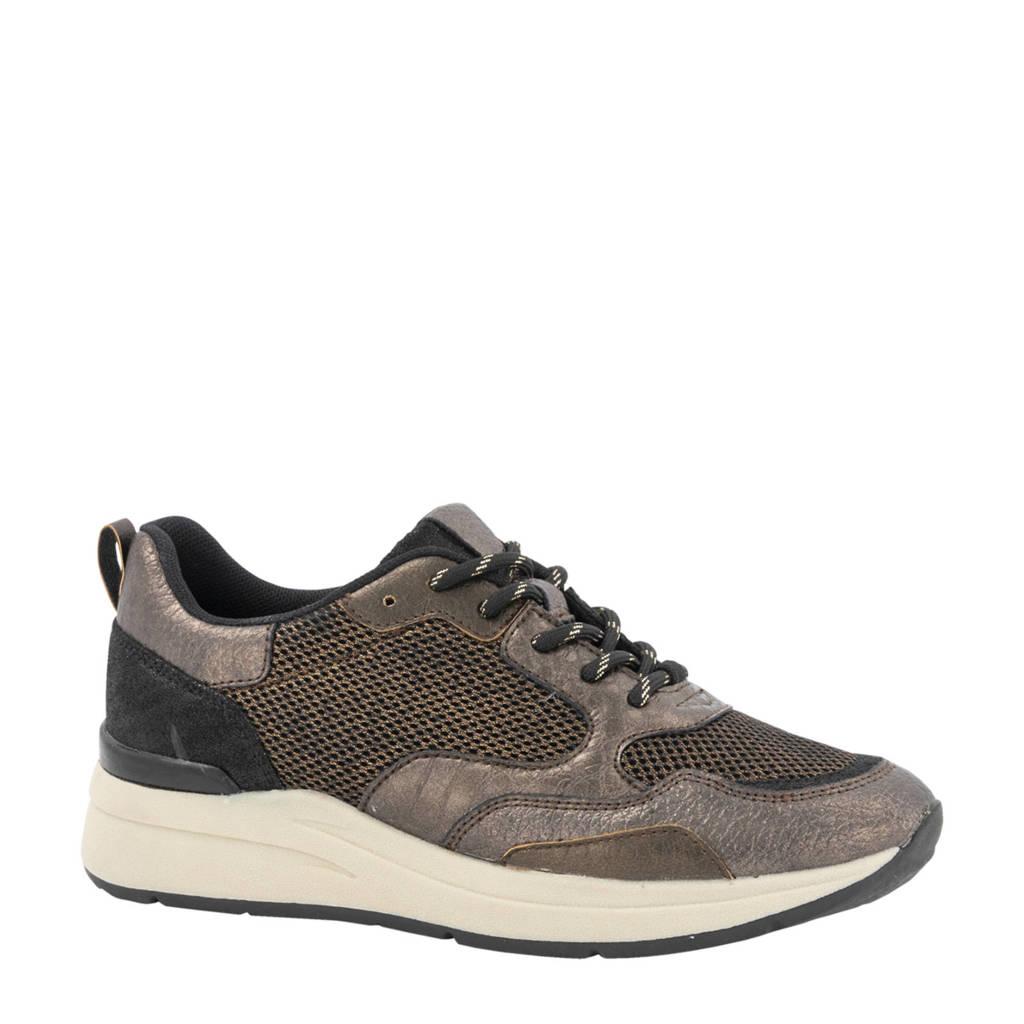 Graceland   sneakers zwart/brons, Zwart/brons