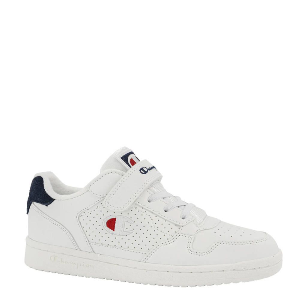 Champion Chicago Jr. sneakers wit/donkerblauw, Wit