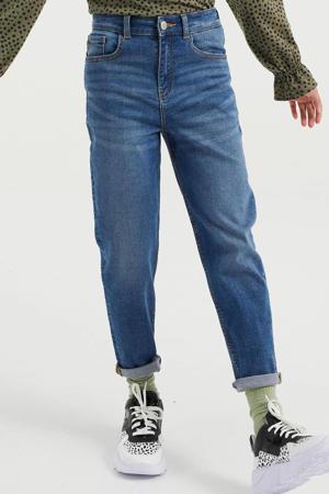 high waist mom fit Blue Ridge jeans stonewashed