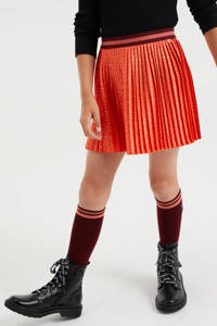 WE Fashion rok met all over print orange flamingo, Orange Flamingo