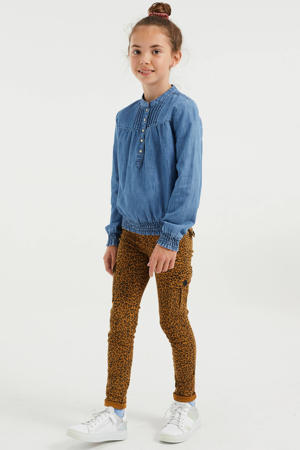 regular fit blouse lightdenim