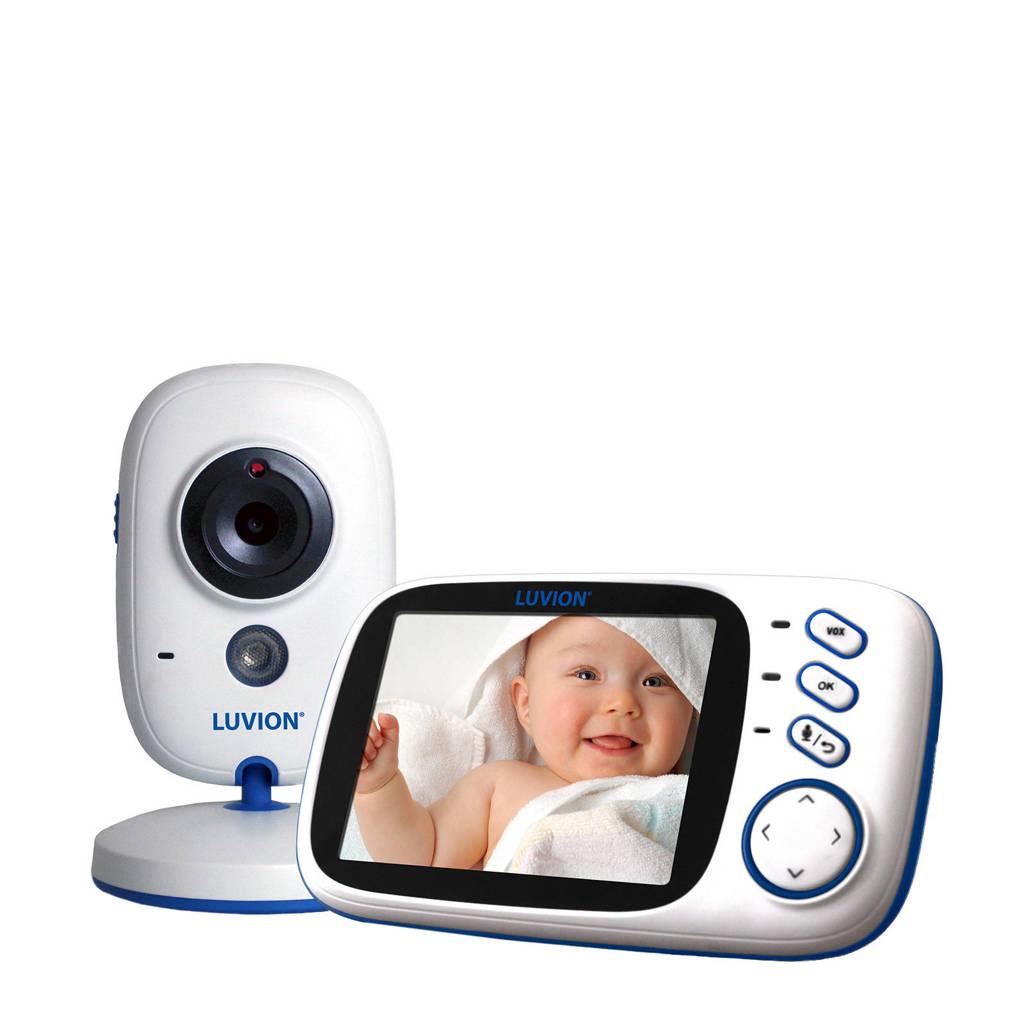 Luvion Platinum 3 - Babyfoon met camera, Wit