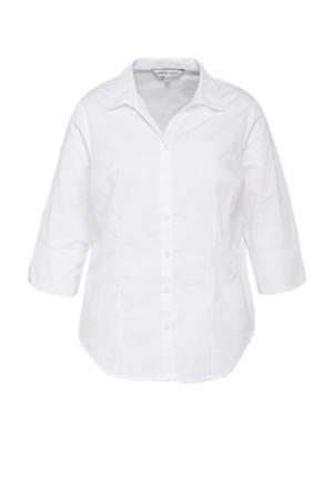 blouse set van 2 wit/zwart