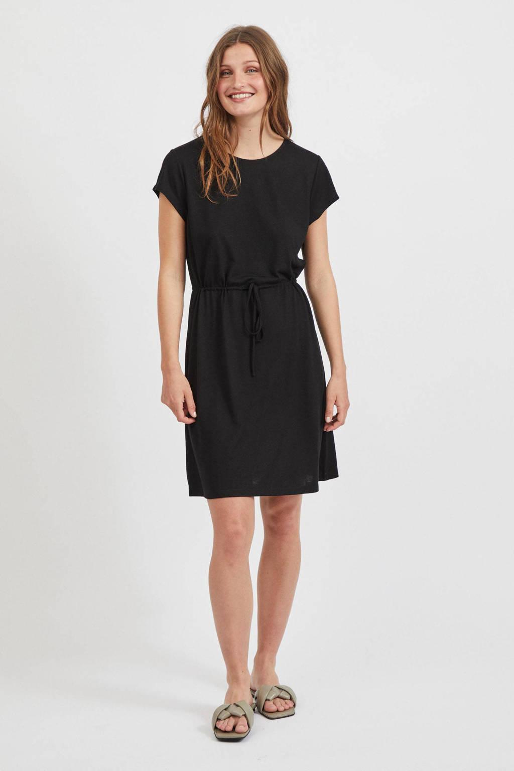 VILA jurk VIMOONEY zwart, Zwart