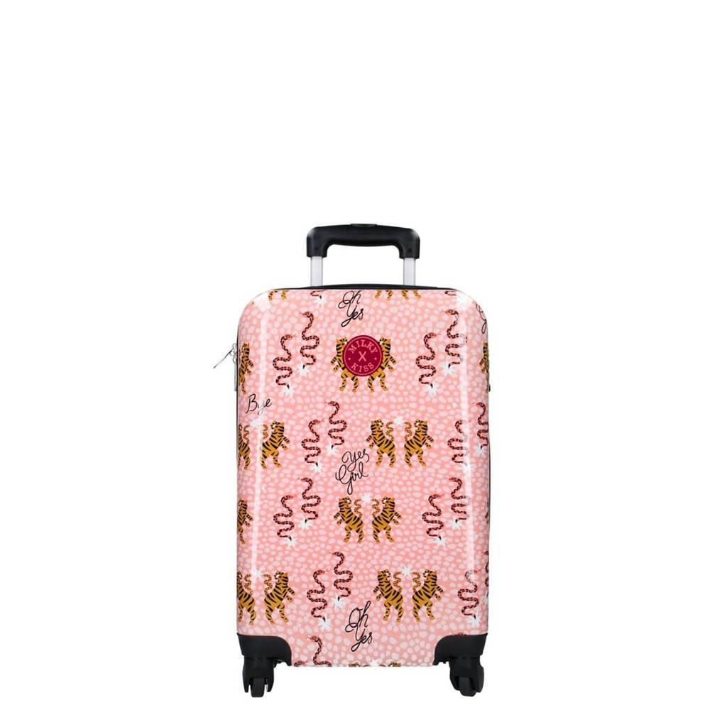 Kidzroom trolley Milky Kiss en Route roze, Roze