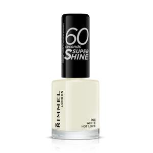 Rimmel London 60 Seconds SuperShine 703 White Hot Love Nagellak
