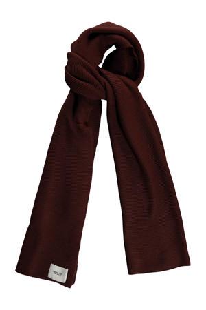 sjaal donkerbruin