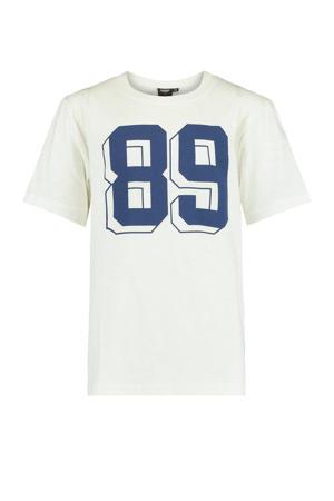 T-shirt Esso van biologisch katoen ecru