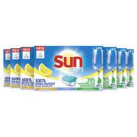 Sun Sun All-in 1 Citroen Vaatwastabletten - 7 x 24 tabletten - Voordeelverpakking