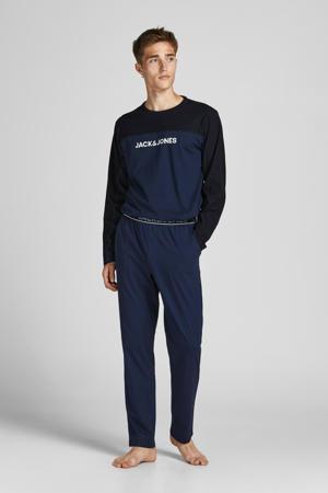 pyjama JACSMITH donkerblauw/zwart