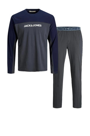 pyjama JACSMITH donkergrijs/donkerblauw