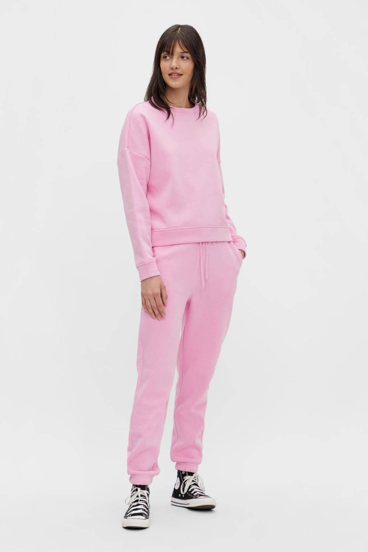 PIECES loungebroek Chilli roze, Roze