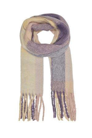 sjaal ONLAGNES lila/ecru
