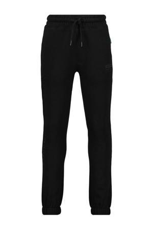 regular fit joggingbroek Sandston zwart