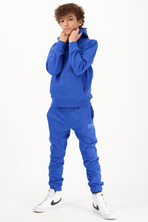 regular fit joggingbroek Sandston hardblauw