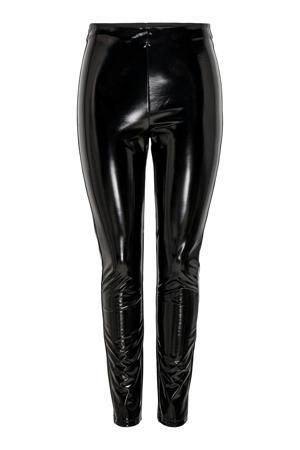 latex legging ONLTASSIE zwart