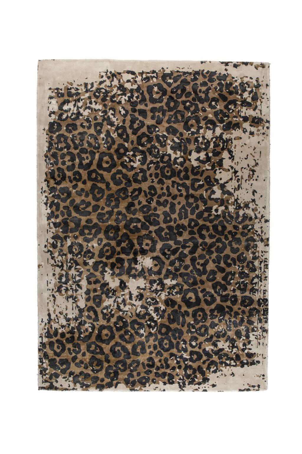 Dutchbone vloerkleed Satwa  (300x200 cm), Bruin