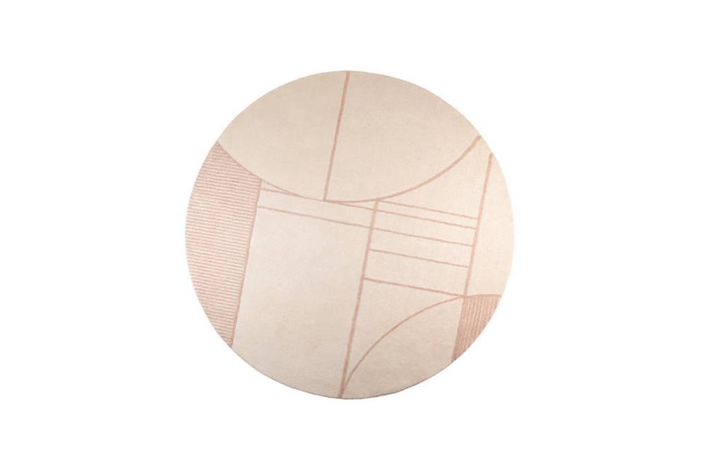 Zuiver vloerkleed Bliss  (Ø240 cm), Roze