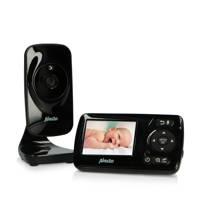 """Alecto DVM71BK - babyfoon met camera en 2.4"""" kleurenscherm - Zwart"""