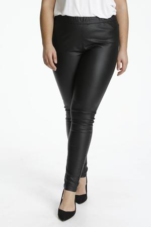 coated skinny legging KCadelen zwart
