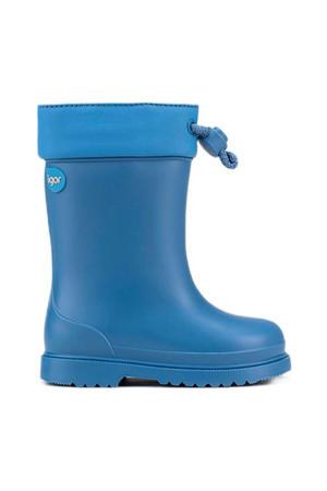 Chufo Cuello  gevoerde regenlaarzen blauw