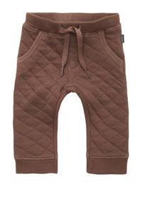 Noppies baby regular fit broek Ravenna bruin, Bruin