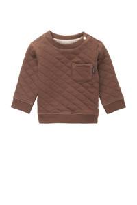 Noppies baby sweater Rizhao bruin, Bruin