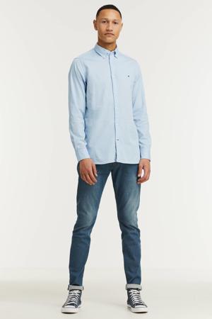regular fit overhemd van biologisch katoen breezy blue
