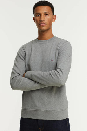 gemêleerde sweater met biologisch katoen medium grey heather
