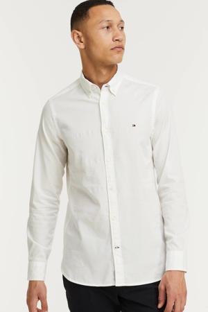 regular fit overhemd van biologisch katoen ecru