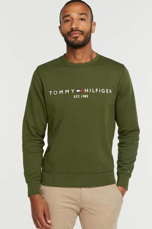 sweater met biologisch katoen olivewood