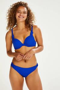 Hunkemöller bikinibroekje Luxe blauw, Blauw