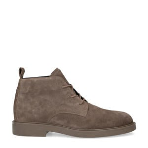 suède veterboots taupe