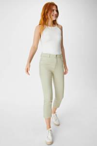C&A Yessica cropped high waist skinny jeans lichtgroen, Lichtgroen