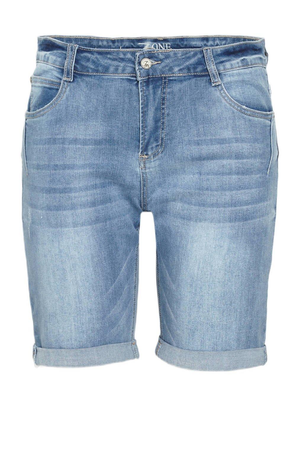 z-one bermuda jeans Pamela light denim, Light denim