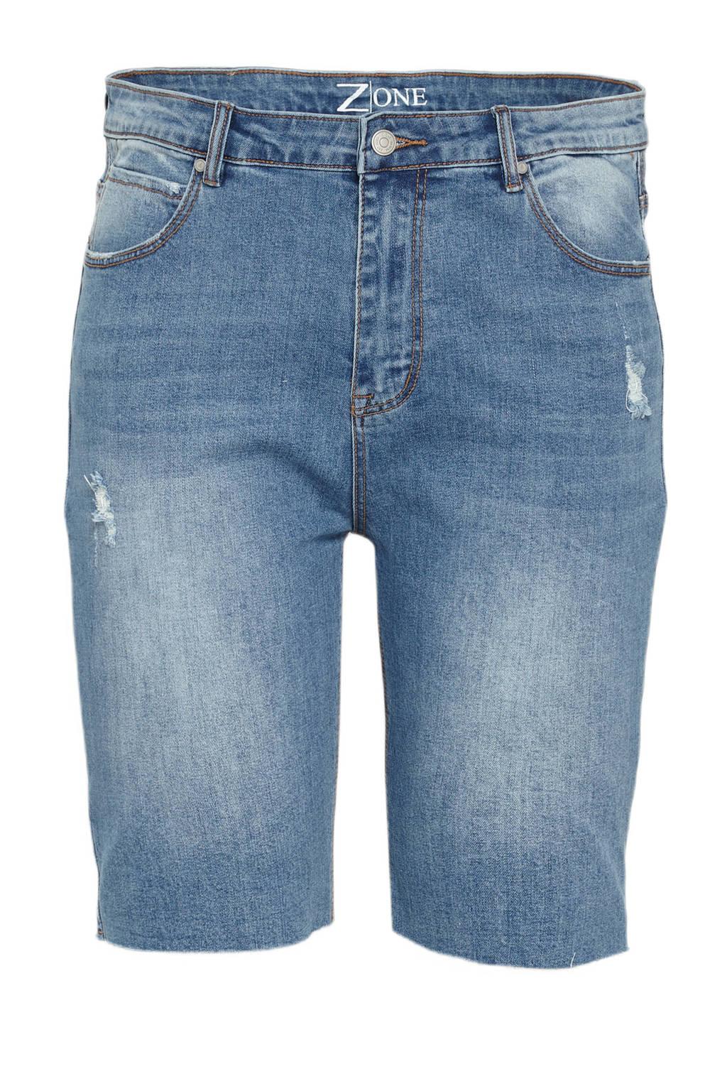 z-one bermuda jeans Josie  light denim, Light denim