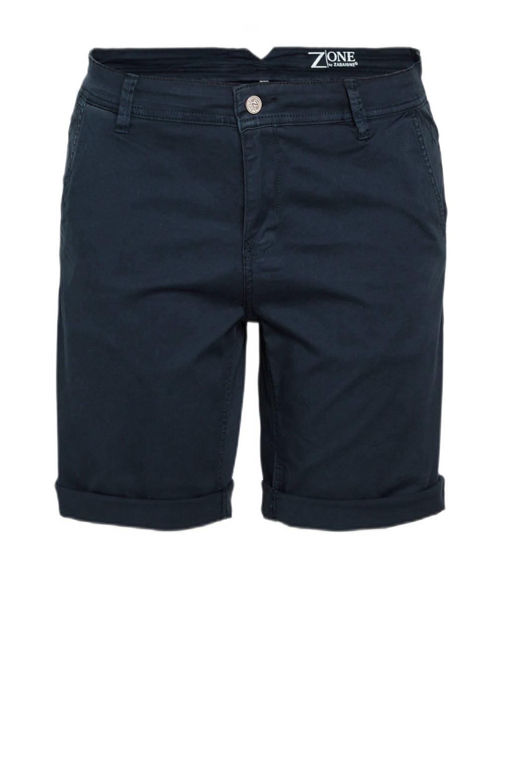 z-one korte broek Priska  donkerblauw, Donkerblauw