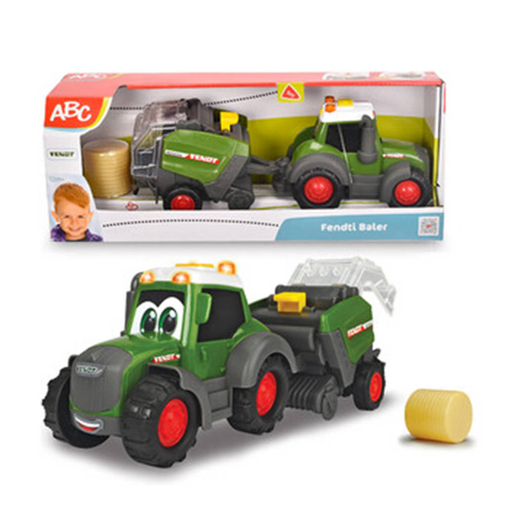 Dickie  ABC Fendt Tractor voor Hooi 30cm