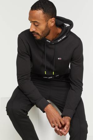 hoodie met logo black