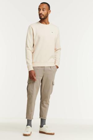 sweater met biologisch katoen smooth stone